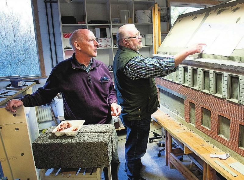 Her ses Carl Henrik Overgaard og Thomas Munk.
